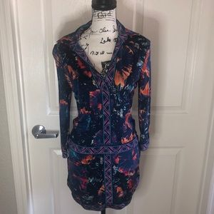 BCBG Maxazria summer 3/4 sleeve dress